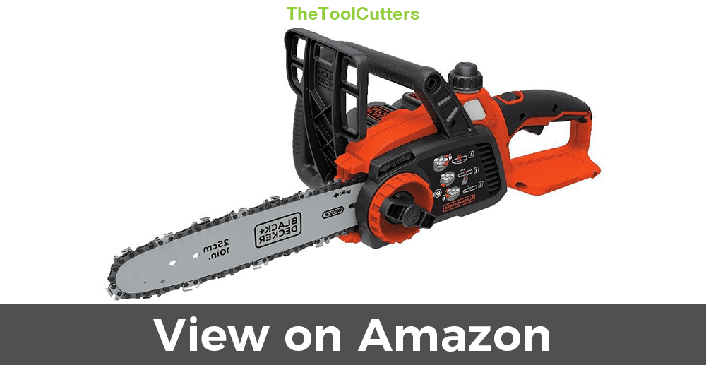 Black + Decker LCS1020 Electric Chainsaw