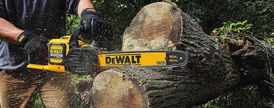 DEWALT DCCS670B Cordless Chainsaw with Brushless Motor